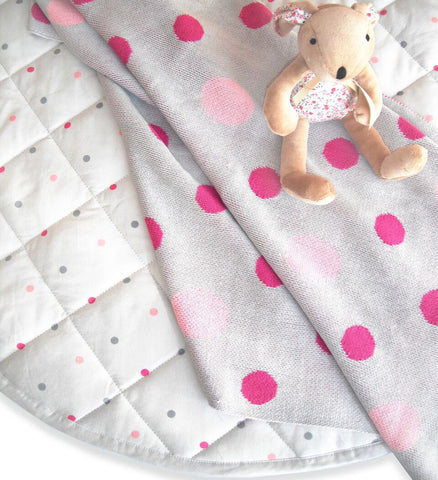 Mint and Me - Quilted Baby Playmat