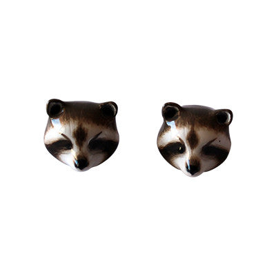 Craft Me Up Racoon Earrings