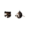 Craft Me Up Animal Racoon Earrings