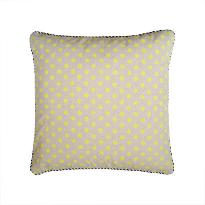 Craft Me Up Neon Dots Cushion Cover