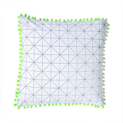 Craft Me Up Geometric Print Cushion Cover