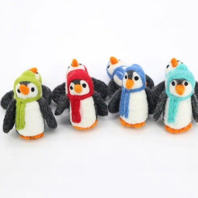 Felted Christmas Penguin