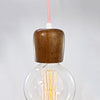 Pony Lane Wooden Light Pendant