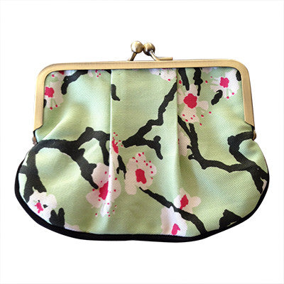 Pony Lane Craft Me Up Cherry Blossom Pleat Coin Purse