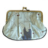 Pony Lane Light Blue Pleat Coin Purse