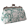 Craft Me Up Emerald Green Woodland Animals Big Bobble Shoulder Bag