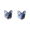 Craft Me Up Wolf Earrings