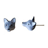 Craft Me Up Wolf Stud Earrings