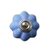 Pony Lane Ceramic Drawer Knob in Blue