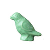 Pony Lane Green Bird Ceramic Drawer Knob