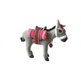 Grey donkey figurine