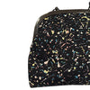 Pony Lane Drips and Splatter Curved Frame Shoulder Bag