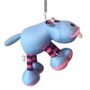 Blue Hippo Hanging Spring Toy