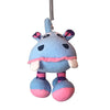 Blue Hippo Spring Toy