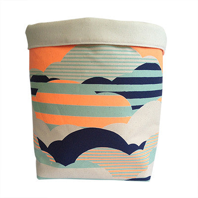 Pony Lane Fabric Basket
