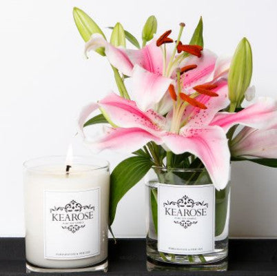 Kearose Limited Edition Candle - Pomegranate & Pink Lily