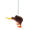 Pony Lane Brown Kiwi Hanging Spring Toy