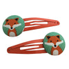 Craft Me Up Mint Fox Hairclips
