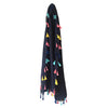 Scarf with Mini Tassels
