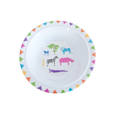 Pony Lane Childrens Bowl African Animals