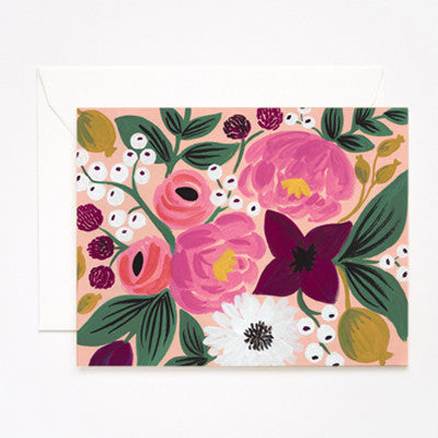 Pony Lane Rifle Paper Co Vintage Blossoms Peach Background
