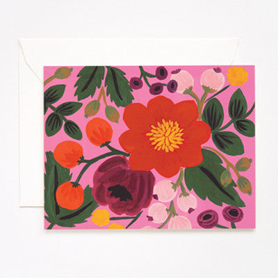 Pony Lane Rifle Paper Co Vintage Blossoms Rose Background