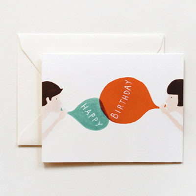 Pony Lane Rifle Paper Co Birthday Cards - Birthday Balloons