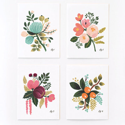 Pony Lane Rifle Paper Co Floral Boxed Set Cards