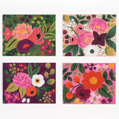 Pony Lane Rifle Paper Co Vintage Blossoms Boxed Card Set