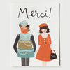 Pony Lane Rifle Paper Co French Boxed Set of Cards - Merci