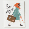 Pony Lane Rifle Paper Co French Boxed Set of Cards - Bon Voyage