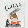 Pony Lane Rifle Paper Co French Boxed Set of Cards -   Cest la vie