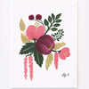 Pony Lane Rifle Paper Co Floral Boxed Set Cards - Rose
