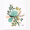 Pony Lane Rifle Paper Co Floral Boxed Set Cards - Blue