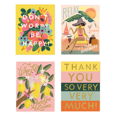 Rifle Paper Co Assorted Thank You Cards