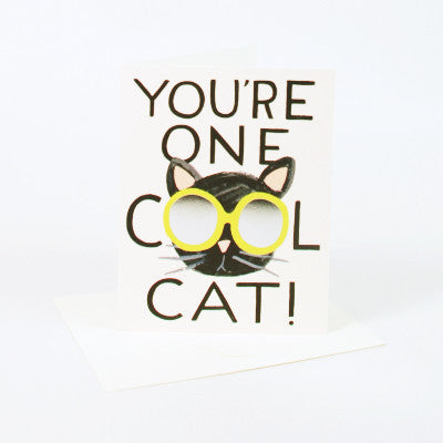 Rifle Paper Co You're One Cool Cat Card