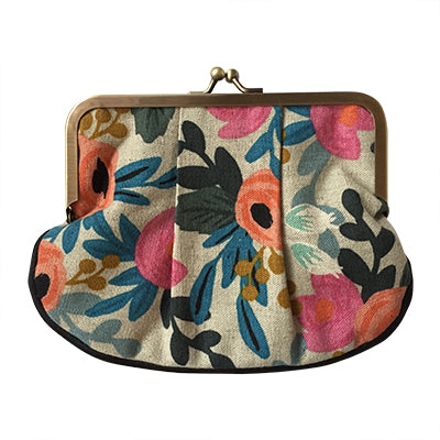 Rifle Paper Co Floral Pleat Coin Purse