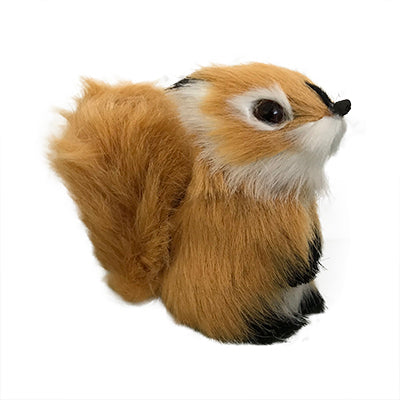 Furry Fox Figurine