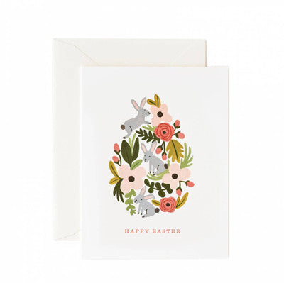 Rifle Paper Co, Box Set Cards - Floral Easter Egg