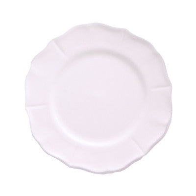 Pony Lane Roma Lunch Plate - White