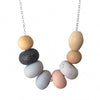 Pony Lane Confetti necklace in scandi colours