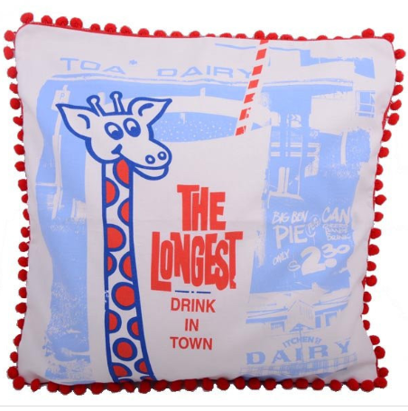 Craft Me Up Longest Drink in Town Cushion Cover