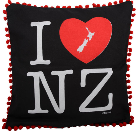 Craft Me Up I Love NZ Cushion Cover