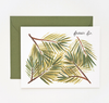 Pony Lane Rifle Paper Co Fraser Fir Card
