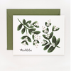 Pony Lane Rifle Paper Co Mistletoe Card