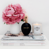 Kearose Soy Wax Candle with black tumbler