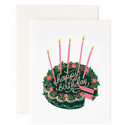 Paper Rifle Co Birthday Cake Card pack