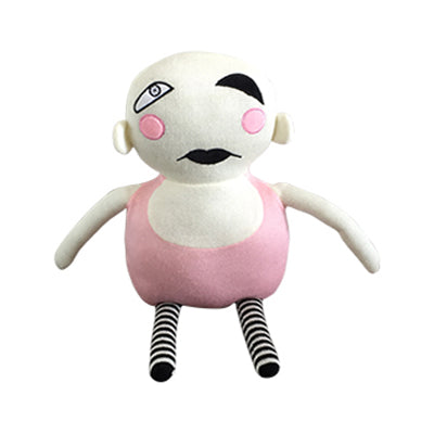 Knitted Softie Toy - Strongman
