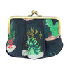 Craft Me Up Pleat Coin Purse Green Terrarium