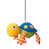 Hanging animal spring toy turtle